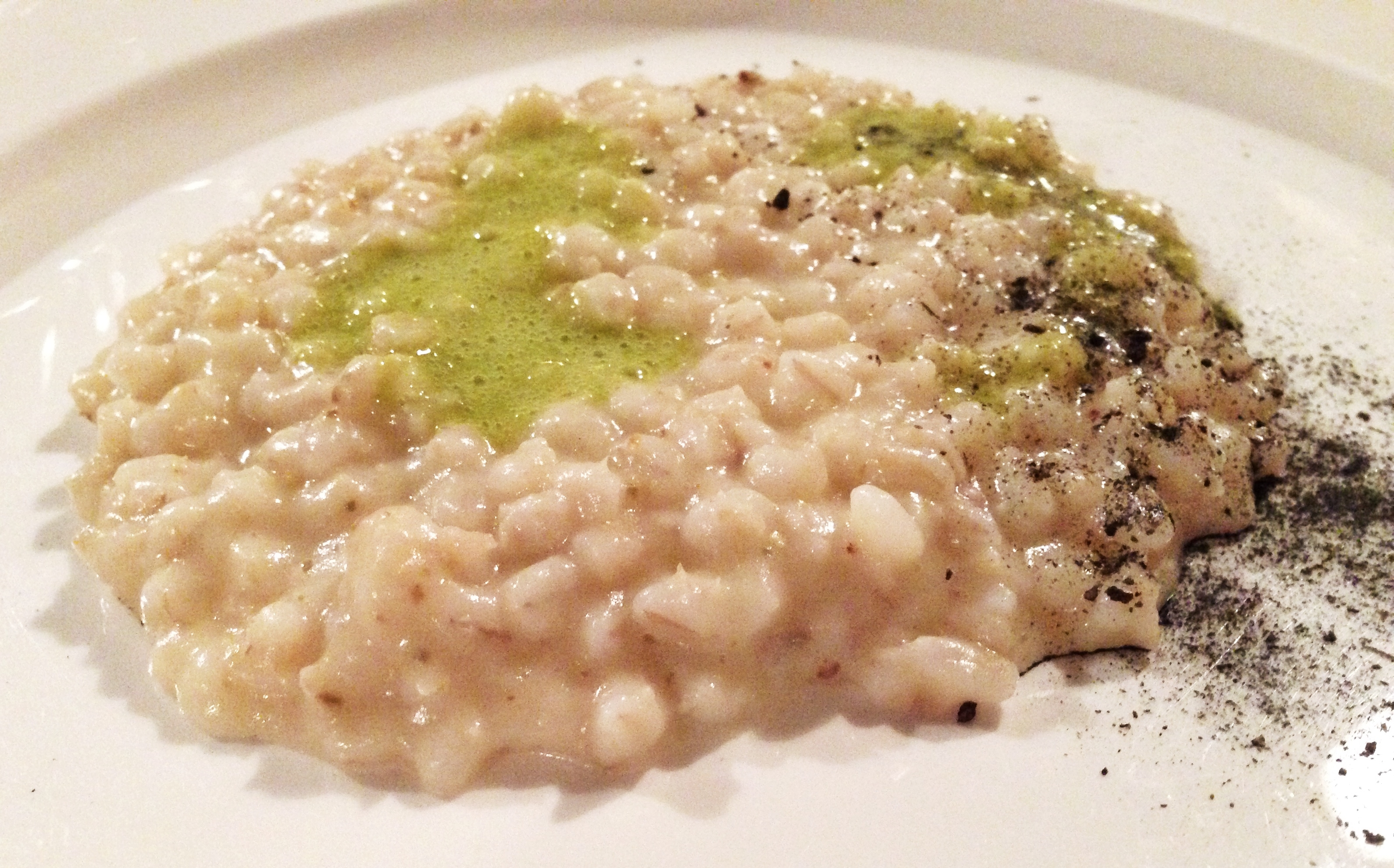 stelle orzotto